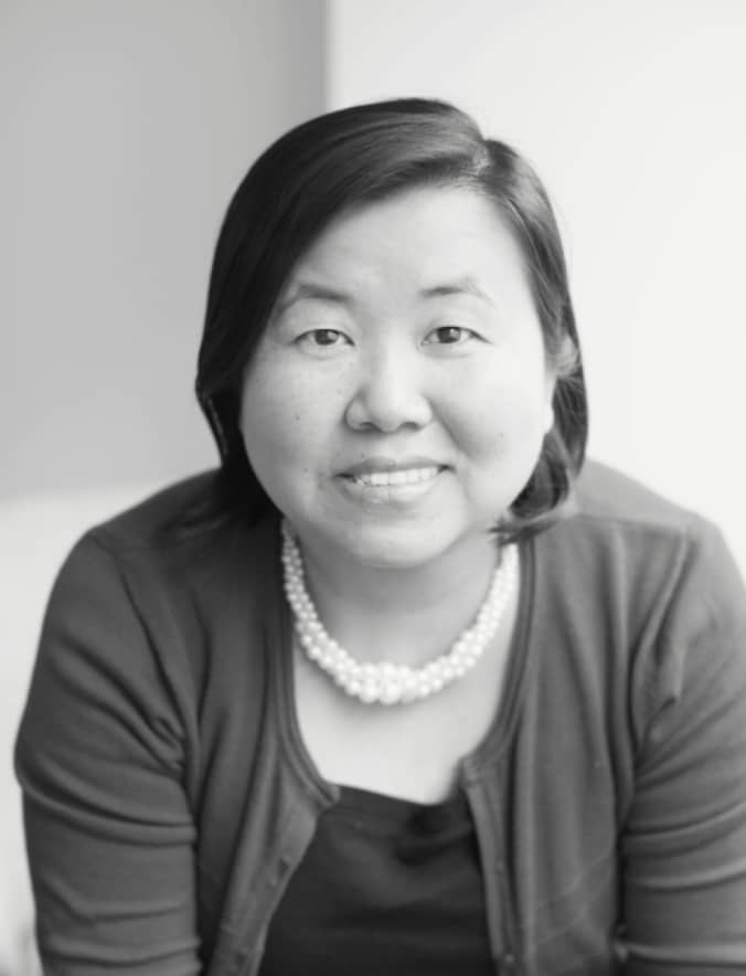Nam Kim's Headshot in Black and White